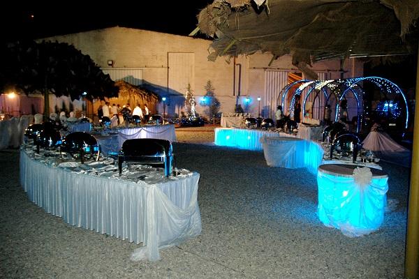 چیدمان میز در مراسم عروسی